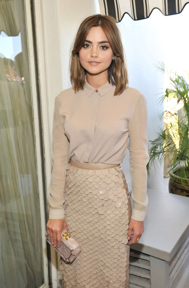 Jenna Louise Coleman - Vanity Fair And Burberry Celebrate BAFTA Los Angeles and the Britannia Awards at Chateau Marmont in LA