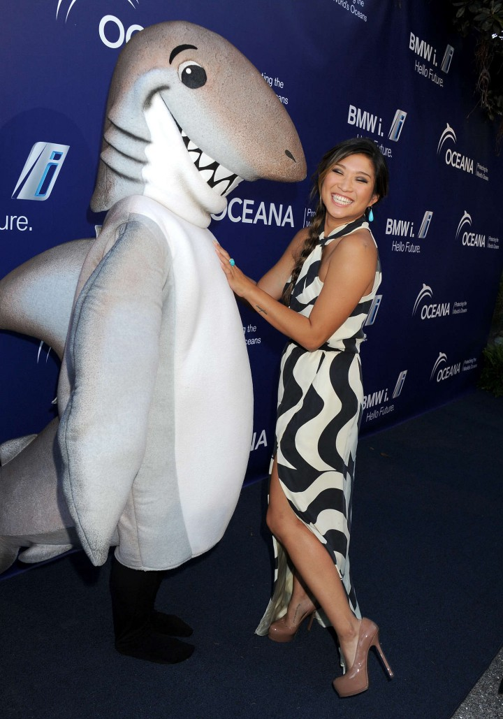 Jenna Ushkowitz - Oceana's 7th Annual SeaChange Summer Party in Laguna Beach
