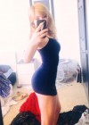 Jennette McCurdy wearing tight dress in New Twitpic