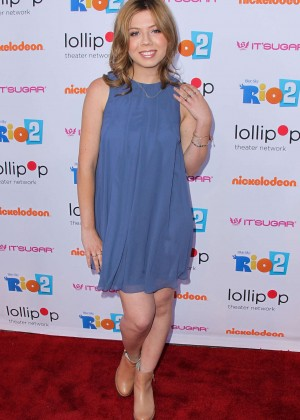 Jennette Mccurdy Night Under the Stars Rio 2 Premiere -10