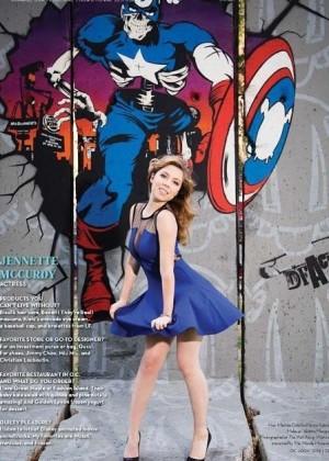 Jennette Mccurdy - Ocean Coast Magazine 2014