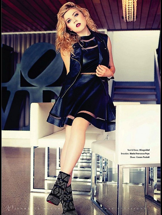 Jennette Mccurdy: Runway Magazine 2014 -01