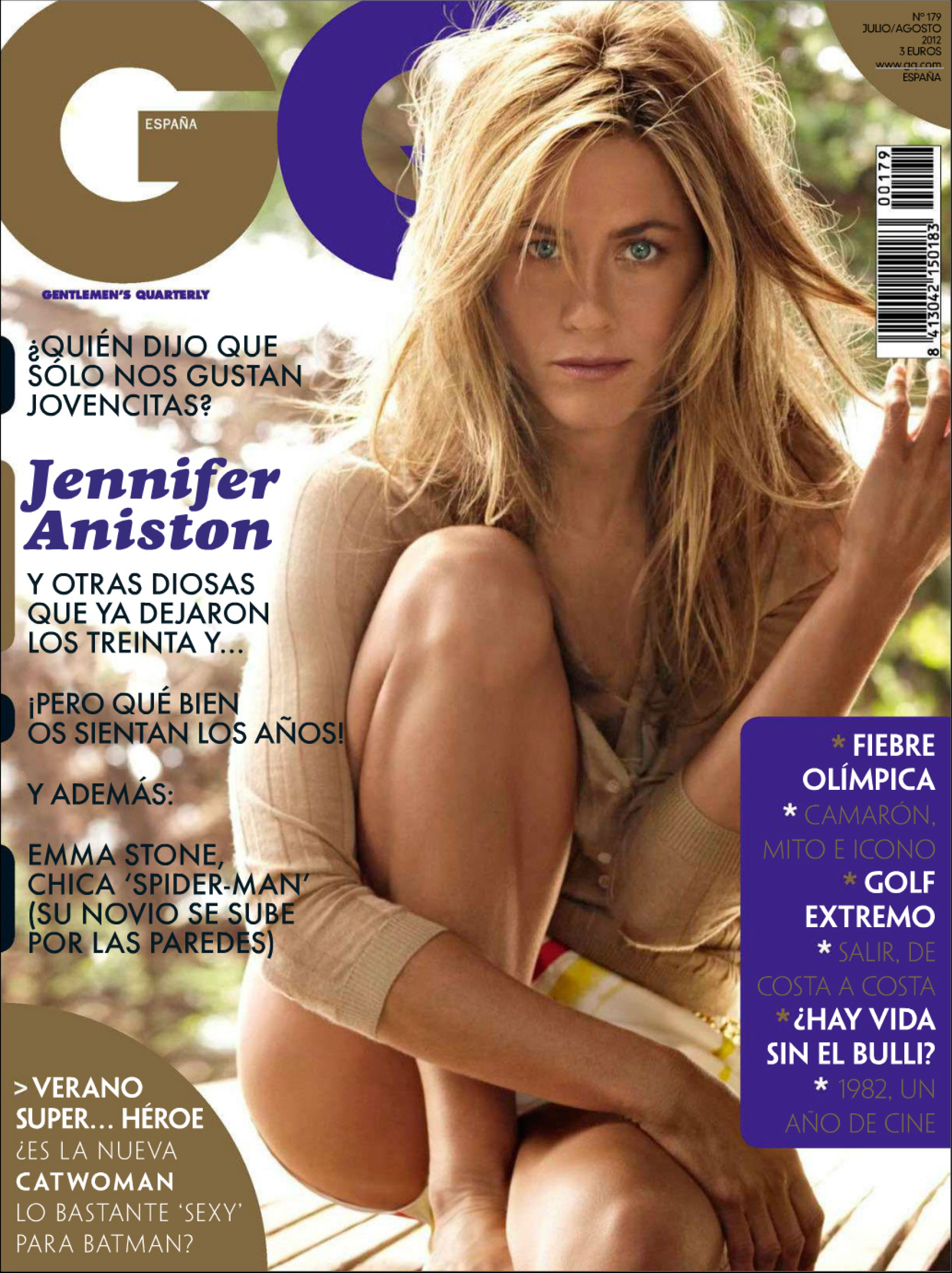 Back To Post Jennifer Aniston Gq Magazine Spain July August