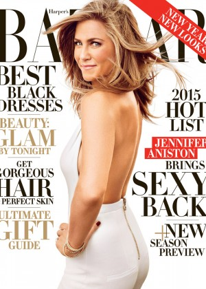 Jennifer Aniston - Harper's Bazaar US Magazine (December 2014)