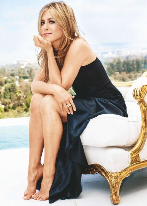 Jennifer Aniston - Marie Claire Australia Magazine (January 2015)