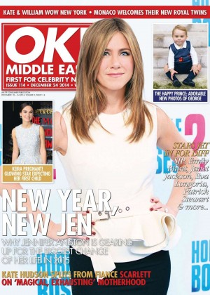 Jennifer Aniston - OK! Middle East Magazine (December 2014)