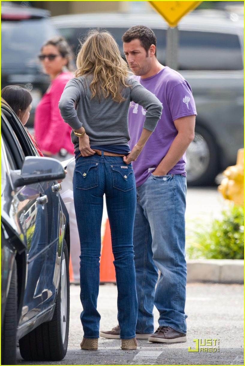Jennifer Aniston Set Of Just Go With It 15 Gotceleb