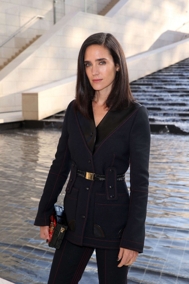 Jennifer Connelly - Louis Vuitton Show Spring-Summer 2015 in Paris