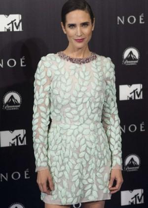 Jennifer Connelly: Noah Madrid Premiere -02