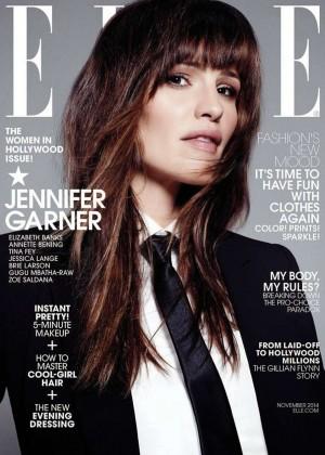 Jennifer Garner - ELLE US Magazine Cover (November 2014)