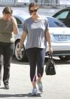 Jennifer Garner in black leggings