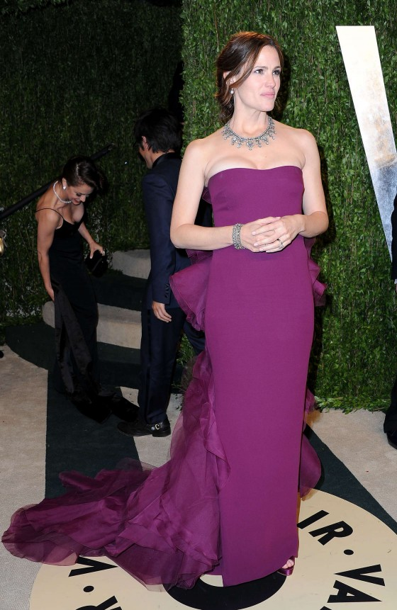Jennifer Garner – Oscar 2013 – Vanity Fair Party -06