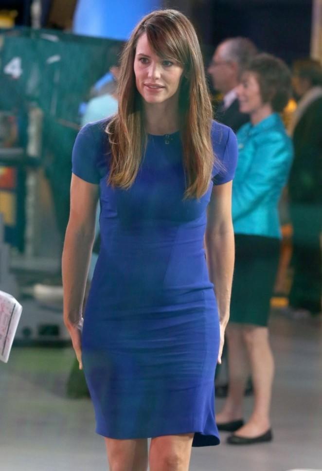 Jennifer Garner – Visits GMA at ABC studios in NYC