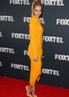Jennifer Hawkins in Tight Dress at Foxtel Launch 2013 -14