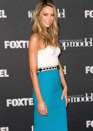 Jennifer Hawkins - Australia's Next Top Model Elimination Set in Sydney