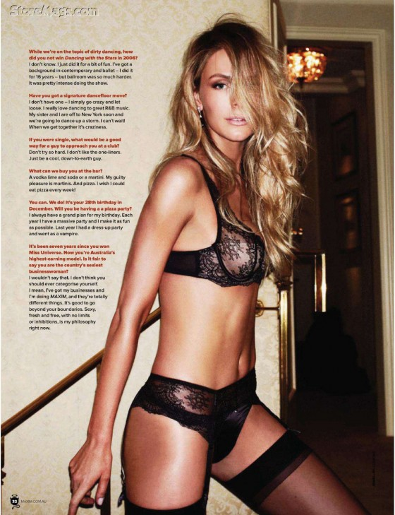 Jennifer Hawkins – Maxim Australia August 2011 Issue-04