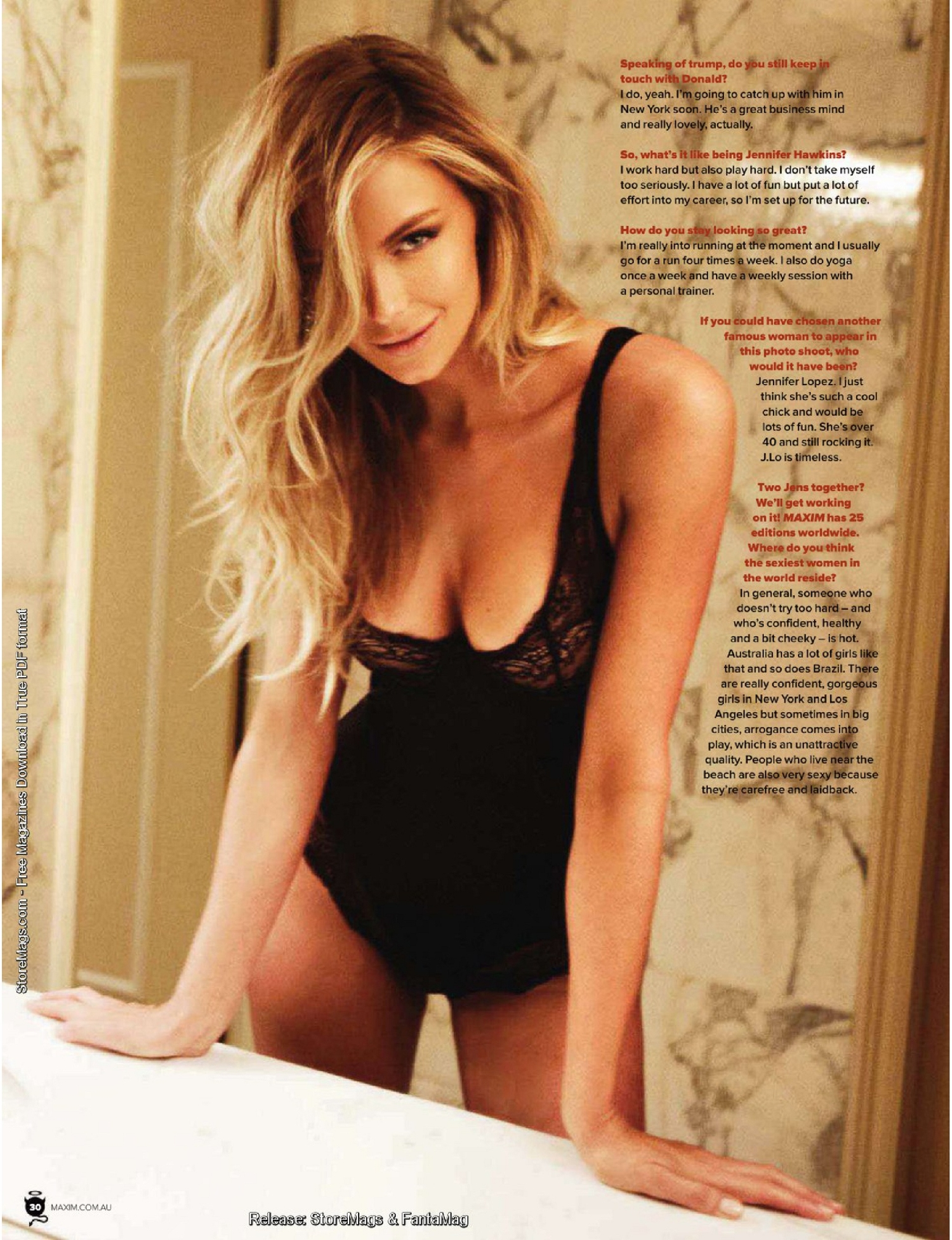 Jennifer Hawkins - Maxim Australia August 2011 Issue-07