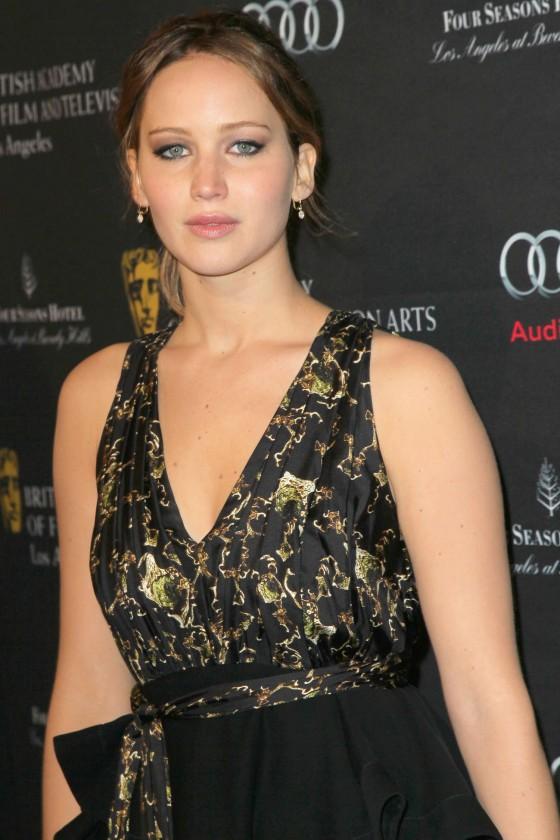 Jennifer Lawrence – 2013 BAFTA Tea Party in LA