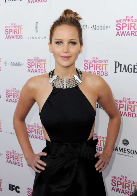 Jennifer Lawrence – 2013 Film Independent Spirit Awards -01