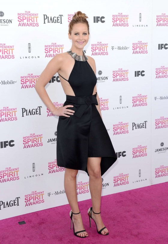 Jennifer Lawrence – 2013 Film Independent Spirit Awards -08