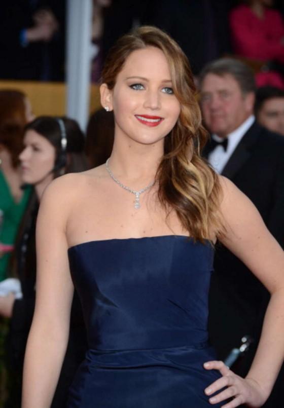 Jennifer Lawrence - 2013 Guild Awards