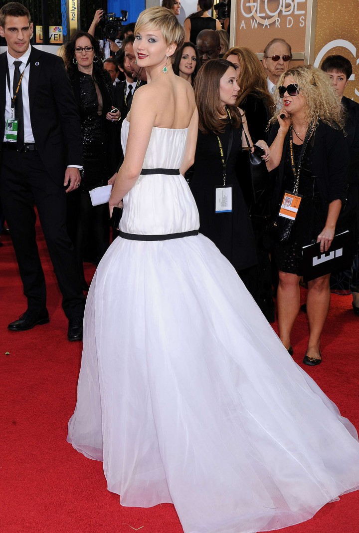 Jennifer Lawrence: Golden Globe 2014 Awards -03