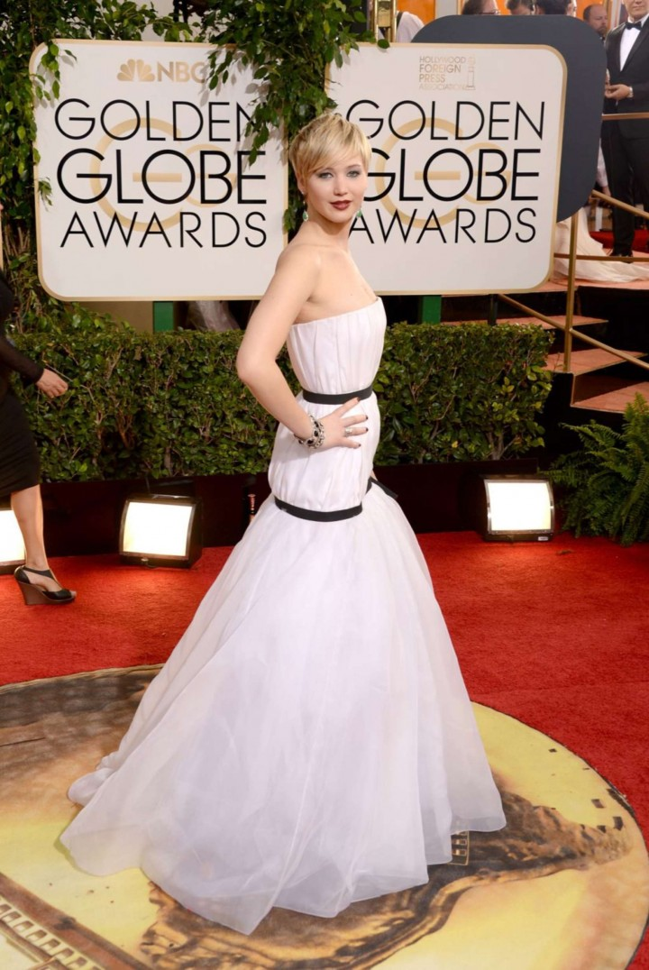 Jennifer Lawrence: Golden Globe 2014 Awards -14