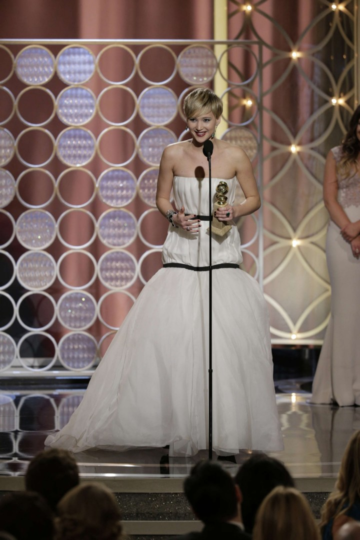 Jennifer Lawrence: Golden Globe 2014 Awards -16