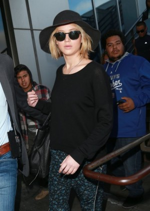 Jennifer Lawrence at LAX in LA