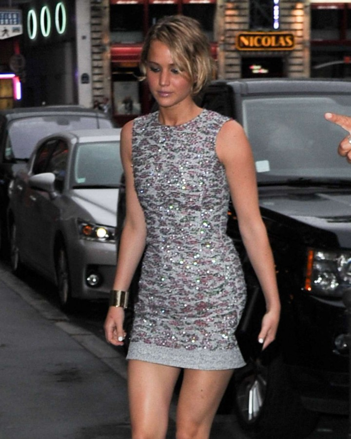 Jennifer Lawrence 2014 Dior After Party