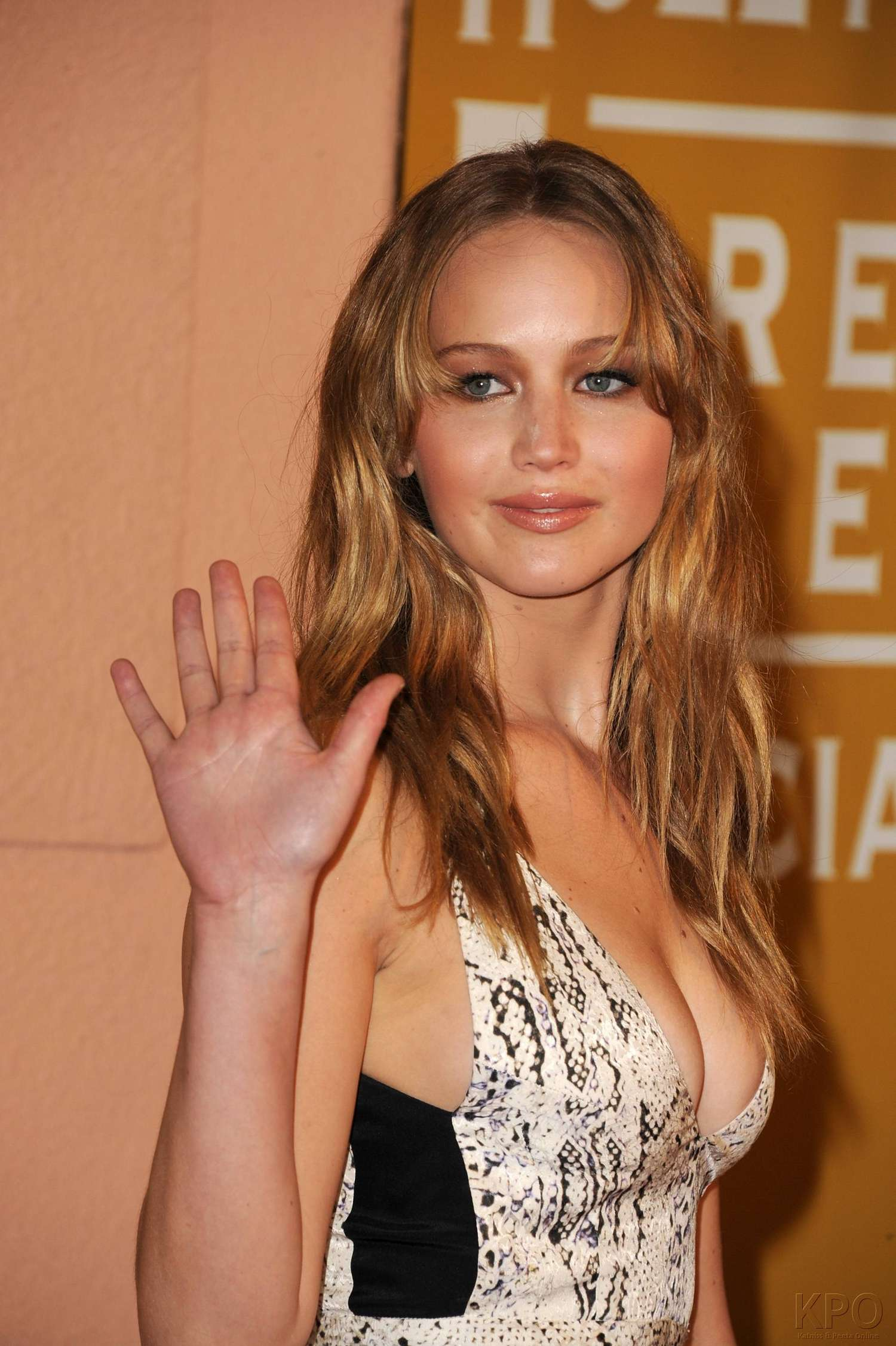 Jennifer Lawrence Hot Cleavage 13