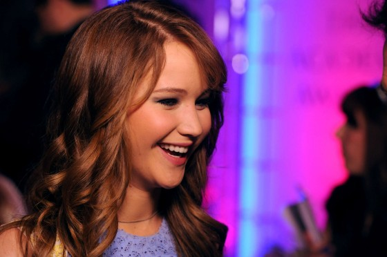 Jennifer Lawrence at 2012 Academy Awards nominations announcement -02