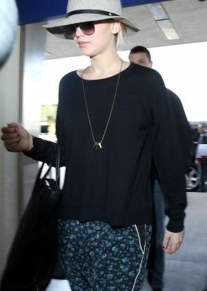 Jennifer Lawrence at LAX Airport in LA
