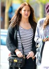 Jennifer Lawrence - Candids at the Kings Road Cafe in LA