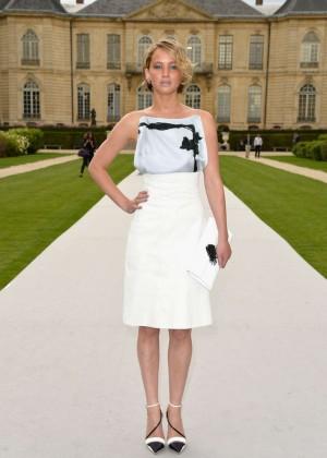 Jennifer Lawrence Paris Fashion Week 2014-09
