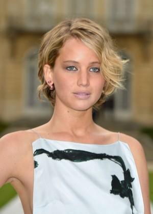 Jennifer Lawrence Paris Fashion Week 2014-15