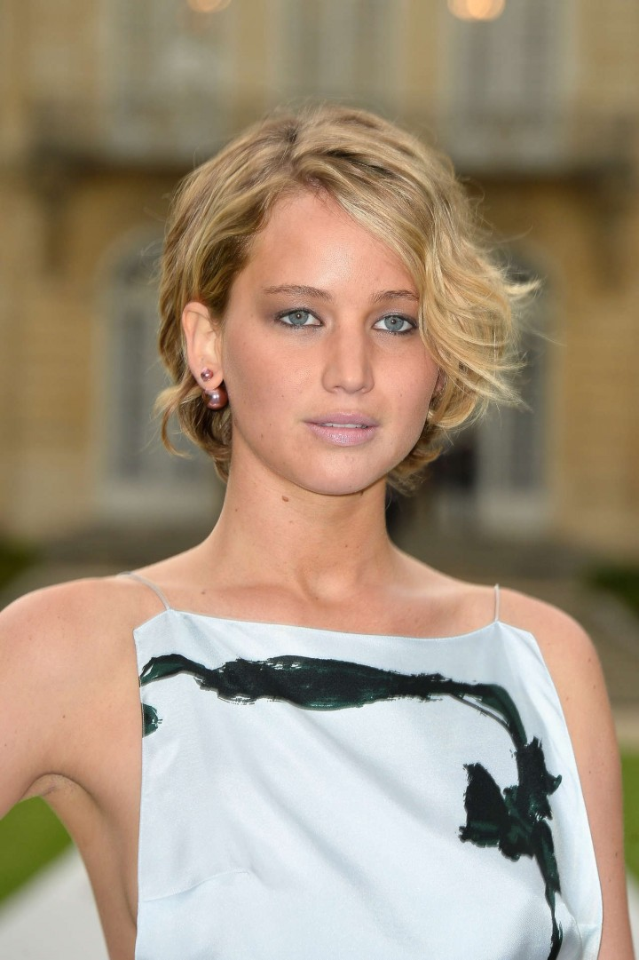 Jennifer Lawrence Paris Fashion Week 2014-15