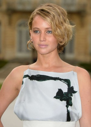 Jennifer Lawrence Paris Fashion Week 2014-16