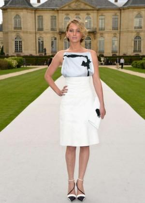 Jennifer Lawrence Paris Fashion Week 2014-17
