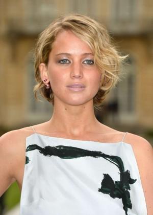 Jennifer Lawrence Paris Fashion Week 2014-18