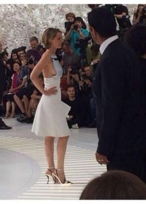 Jennifer Lawrence Paris Fashion Week 2014-27