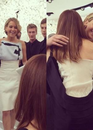 Jennifer Lawrence Paris Fashion Week 2014-30
