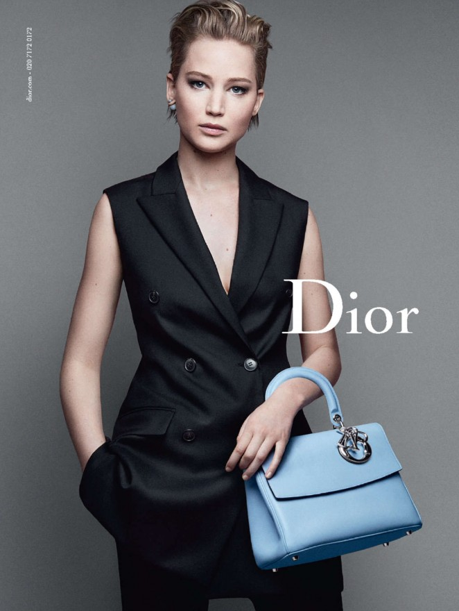 "Jennifer Lawrence - Christian Dior ""Miss Dior"" 2014 Promos"