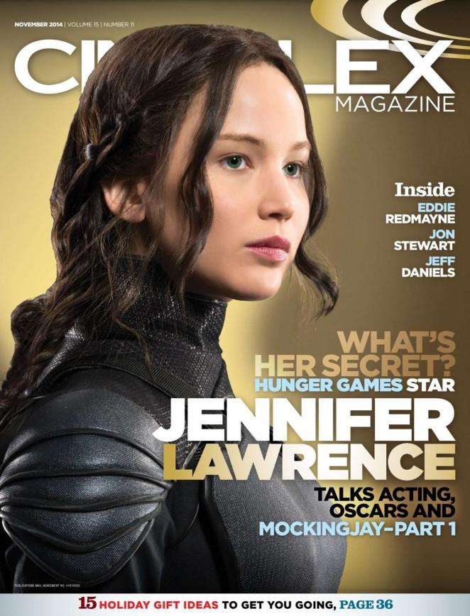 Jennifer Lawrence - Cineplex Magazine (November 2014)