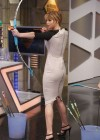 "Jennifer Lawrence with bow on ""El Hormiguero"" TV Show 2012"