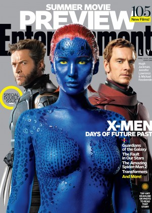 Jennifer Lawrence: Entertainment Weekly Cover 2014 -01