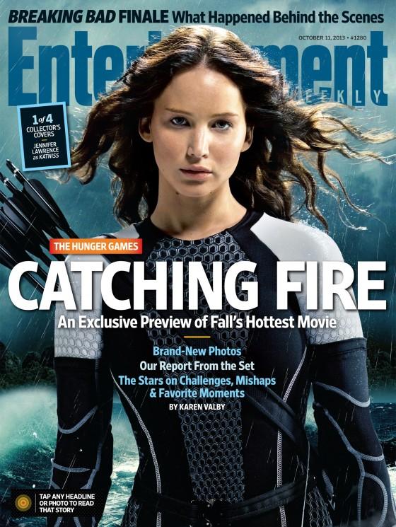 Jennifer Lawrence – Entertainment Weekly Magazine (October 2013)