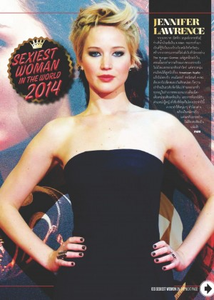 Jennifer Lawrence - FHM Thailand Magazine (October 2014)