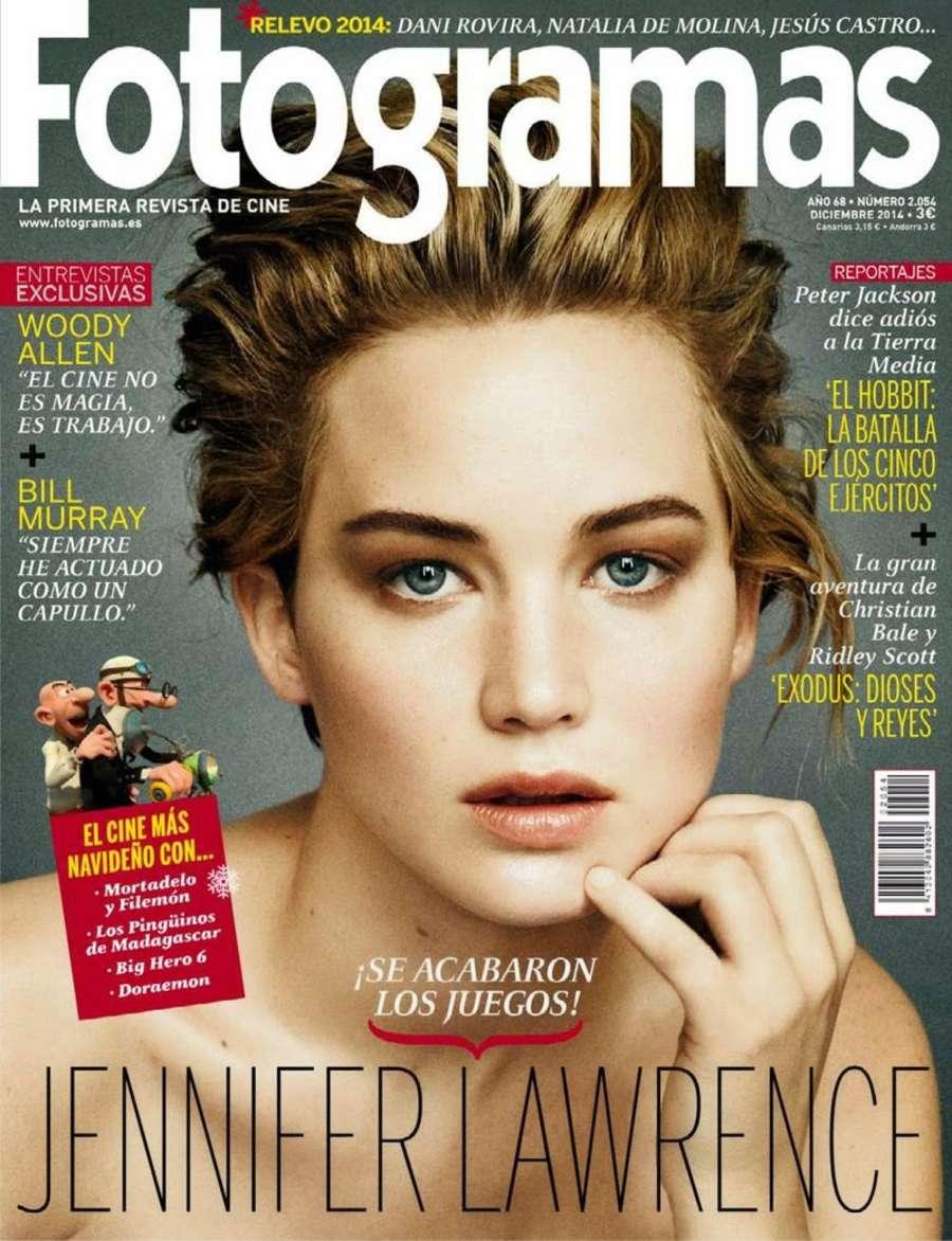 Jennifer Lawrence - Fotogramas Spain Magazine (December 2014)