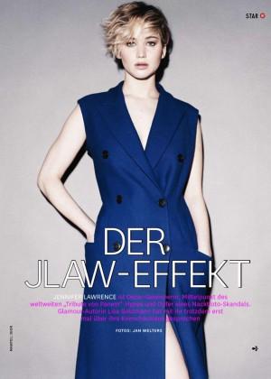 Jennifer Lawrence - Glamour Germany Magazine (December 2014)
